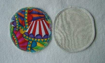 small round breast pads